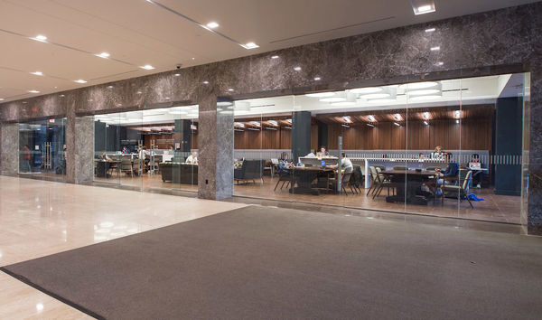 Hesburgh Library Scholars Lounge